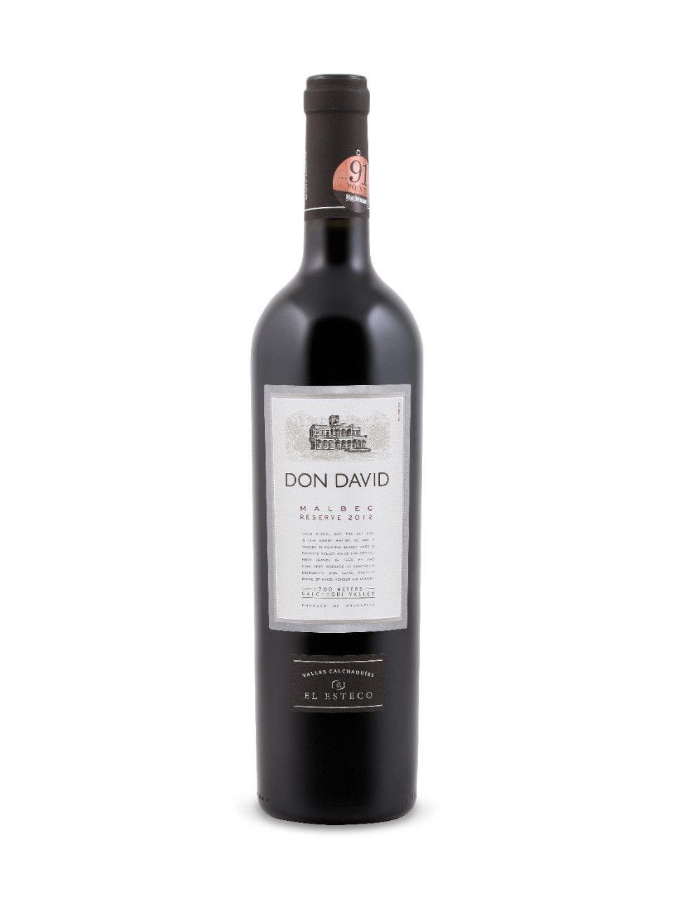 Don David Reserve Malbec 2012