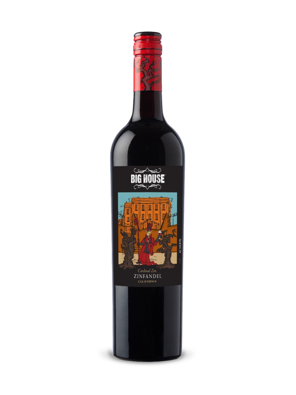 Big House Cardinal Zin