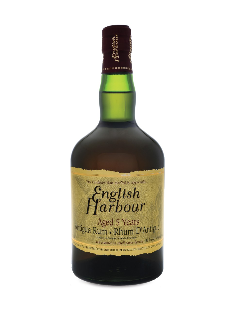 English Harbour Aged 5 Years Antigua Rum
