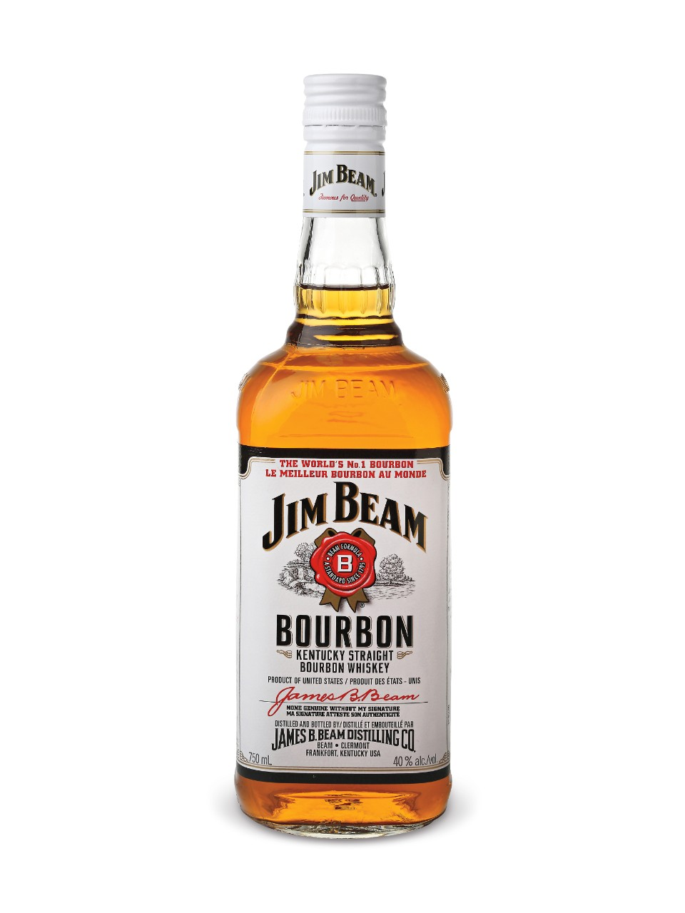 Jim Beam White Label Bourbon