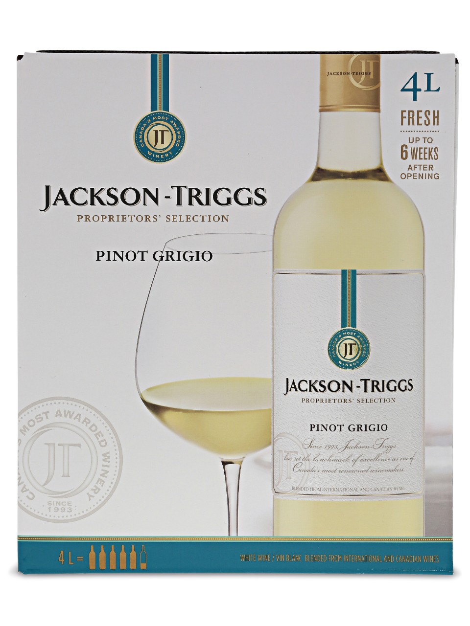 Jackson-Triggs Pinot Grigio Bag in Box